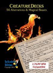 Creature Deck - Aberrations & Magical Beasts