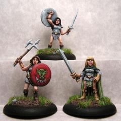 Dwarf Shield Maidens