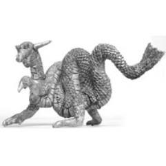 Sinuous Oriental Dragon
