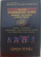 Federated Suns Inner Sphere Lance