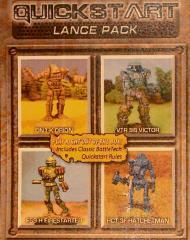 Quickstart Lance Pack