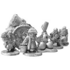 Dwarf Bombard w/Crew