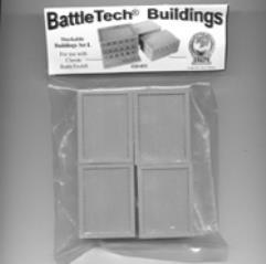 Battletech Buildings - Stackable Buildings Set I