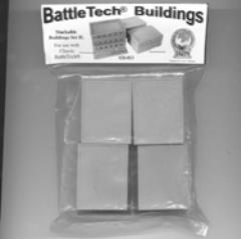 Battletech Buildings - Stackable Buildings Set II