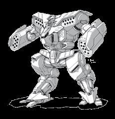Osteon Mech (War of Reaving - 85 Ton)