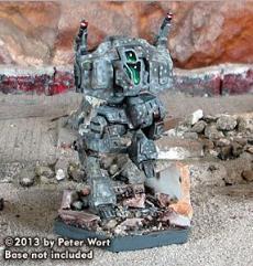 Cephalus Mech (War of Reaving - 25 Ton)