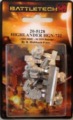HGN-732 Highlander (TRO 3050U) (Resculpt)