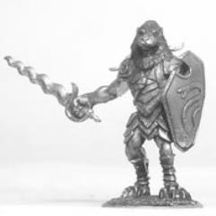 Litorian Snake Totem Warrior (Male)