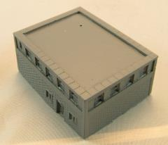 Lower Stackable Brick Building