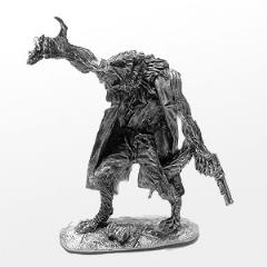 Huber - Male Wolf Shifter w/Shotgun