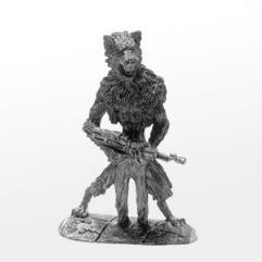 Lang - Male Wolf Shifter w/Assault Rifle