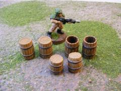 Mixed Wooden Barrel Set