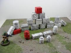Barrels & Crates Set
