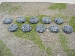 25mm Round - Rock Bases