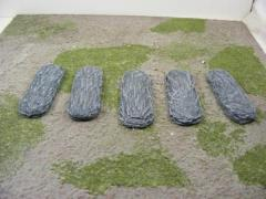 25mm x 50mm Round - Rock Bases