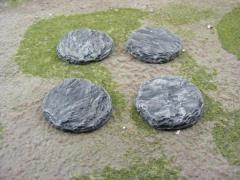 40mm Round - Rock Bases