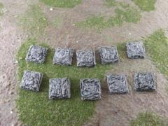 20mm Square - Rock Bases