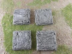 40mm Square - Rock Bases