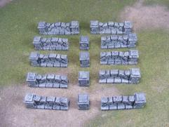 Stone Wall Set