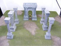 Roman Arch and Columns Set