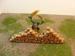 Fieldstone Wall Ruin