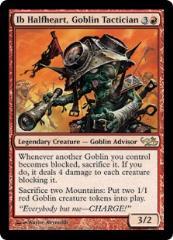 Ib Halfheart - Goblin Tactician (R)