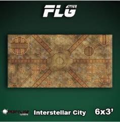 6' x 3' - Interstellar City