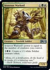 Ironroot Warlord (U)