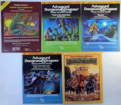 AD&D 1st Edition I-Series Module Collection - 5 Adventures!