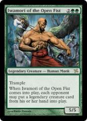 Iwamori of the Open Fist (R) (Foil)