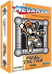 Mega Man Pixel Tactics - Bass Man Orange Box