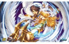 Playmat - Red Horizon, Angels