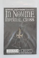 Necklace - Sterling Silver - Infernal Cross