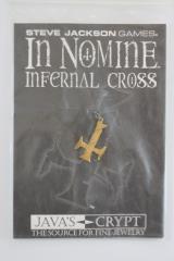 Necklace - Bronze - Infernal Cross