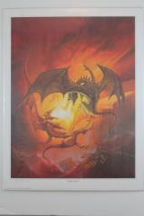 Dragon Duel (Matted) (2nd Edition Dungeon Master's Screen)