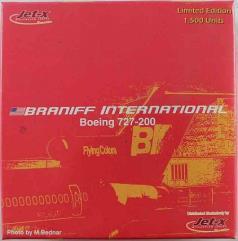 """""""Red"""" Braniff International B727-200"""