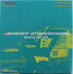 """Green"" Braniff International B727-200"