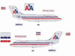 American Airlines BAe146-200 - N696AA