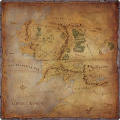 Middle Earth Game Mat