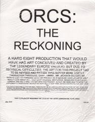 Orcs at the Gates - Orcs, The Reckoning