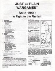 Salla 1941 - Fight to the Finnish