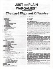 Last Elephant Offensive, The