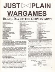 Black Day of the German Army w/Fuller's Offensive 1919