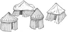 Assorted Tents Set