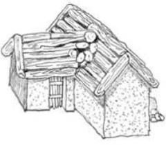 Timber Mud House