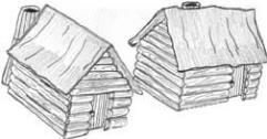 Civil War Cabins