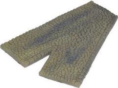 Sandstone Cobblestone - V Intersection