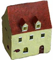 Schultz Family House (Resin)