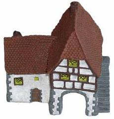 Village Gate House (Resin)