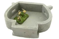 Heavy Machine Gun Bunker w/Removable Rood